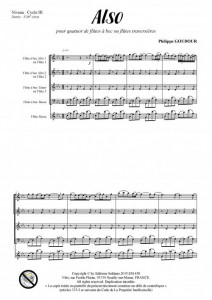 Also (quatuor de flûtes ou flûtes à bec)