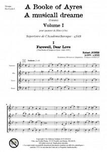 A Book of Ayres -Volume 1- (quatuor de flûtes à bec)