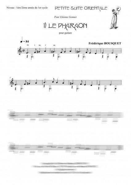 Petite suite orientale (guitare)