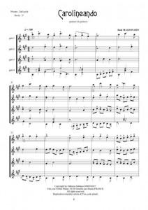 Carolineando (quatuor de guitares)