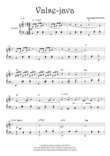Valse-java (accordéon)