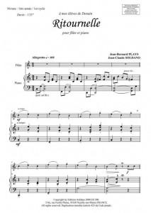 Ritournelle (flûte et piano)