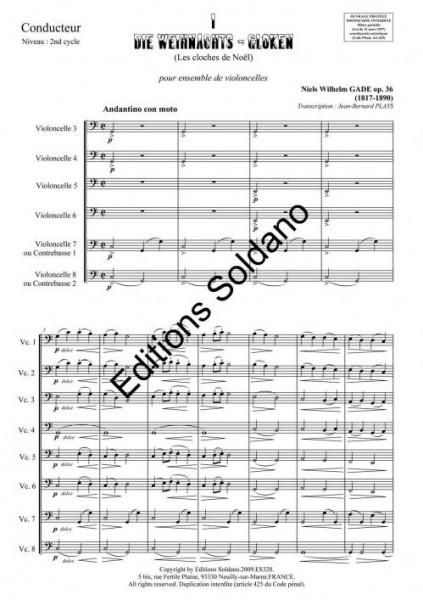 Le Noël des enfants (ensemble de violoncelles)
