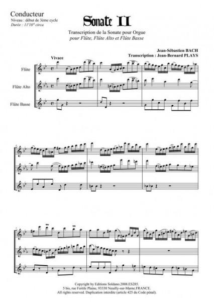 Sonate n°2 (trio de flûtes)
