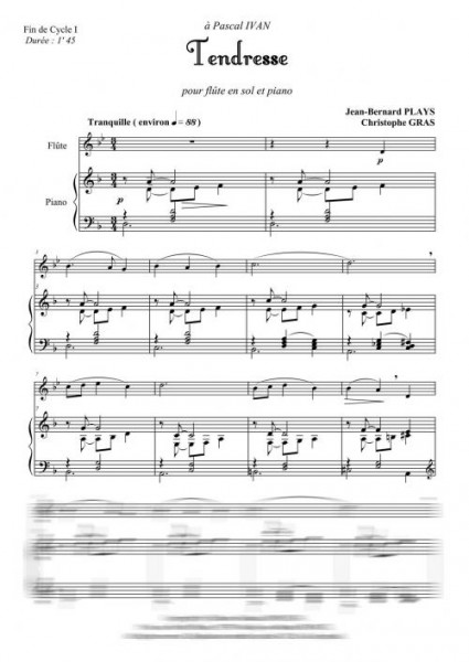 Tendresse (flûte alto et piano)