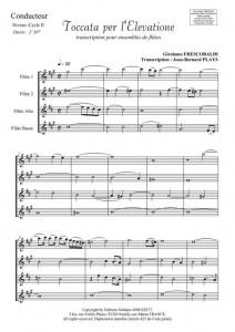 Toccata per l'Elevatione (ensemble de flûtes)