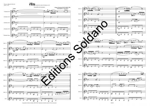 Aria (ensemble de clarinettes)