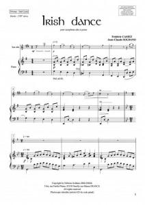 Irish dance (sax alto/piano)