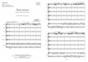 2ème menuet (ensemble de flûtes)