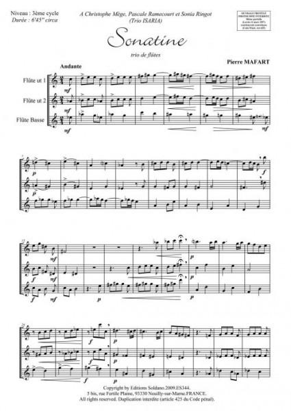 Sonatine (trio de flûtes)