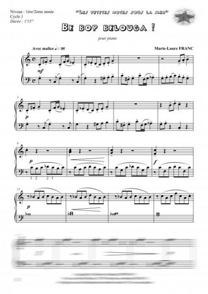 Les petites notes sous la mer / volume 1 (piano)