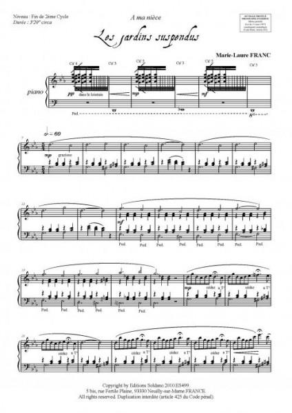 Les jardins suspendus (piano)