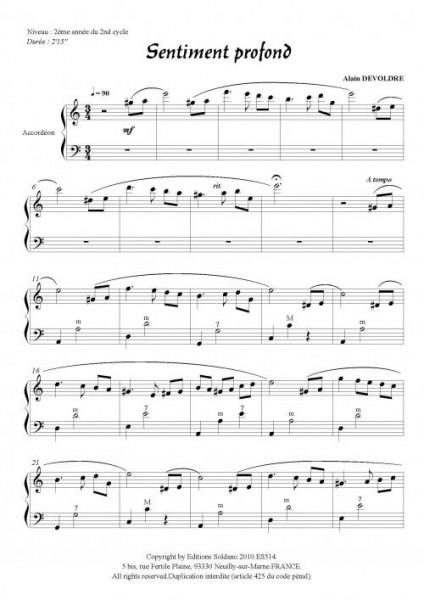Sentiment profond (accordéon)