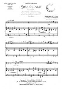 Soir de lune (alto/piano)