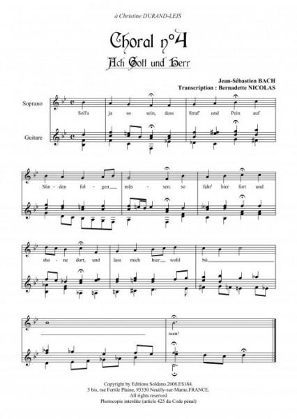 9 Chorals (chant et guitare)