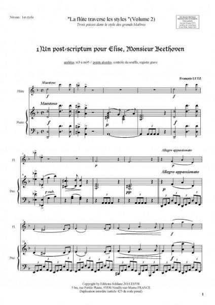 La flûte traverse les styles (Volume 2)