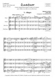 Quatuor (quatuor de flûtes)