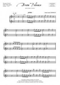 Brume Polonaise (piano 4 mains)