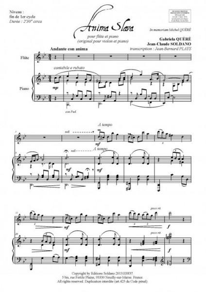 Anima Slava (flûte et piano)