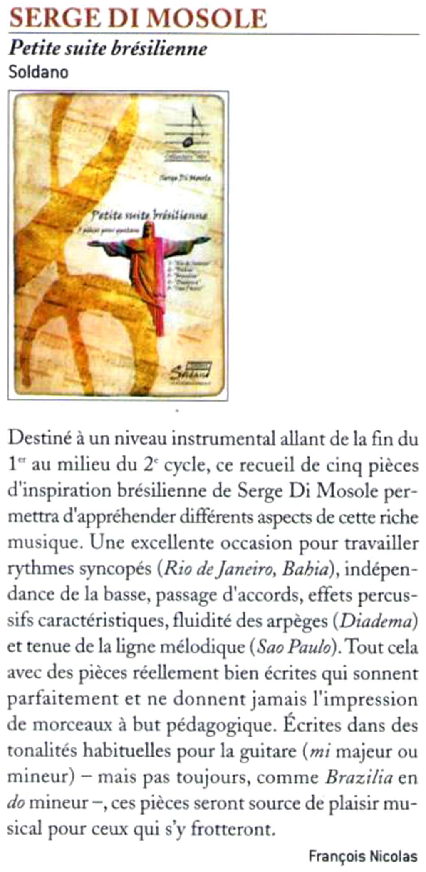 Di Mosole guitare classique n°74