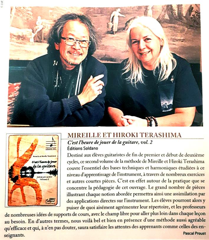 Article de Guitare Classique Magazine n°94